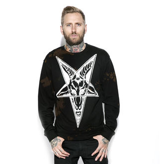 felpa senza cappuccio uomo - Baphomet - BLACK CRAFT, BLACK CRAFT