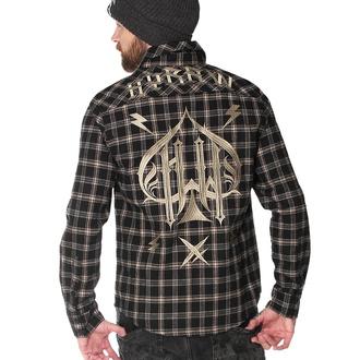 Camicia da uomo a maniche lunghe HYRAW - CHEMISE ACE OF SPADES, HYRAW