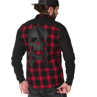 Camicia da uomo a maniche lunghe HYRAW - CHEMISE DEATH SHADOW, HYRAW