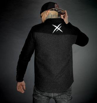 Camicia da uomo HYRAW - SHADOW, HYRAW