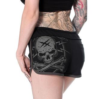 Pantaloncini da donna HYRAW - BLACK, HYRAW