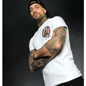 Maglietta da uomo HYRAW - Graphic - COFFIN WHITE, HYRAW