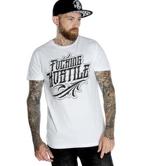 Maglietta da uomo HYRAW - Graphic - fucking H blanc, HYRAW