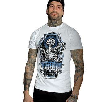 Maglietta da uomo HYRAW - Graphic - SKULL AND BONES - BIANCA, HYRAW