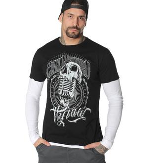 Maglietta da uomo a maniche lunghe HYRAW - EVIL RECORD, HYRAW