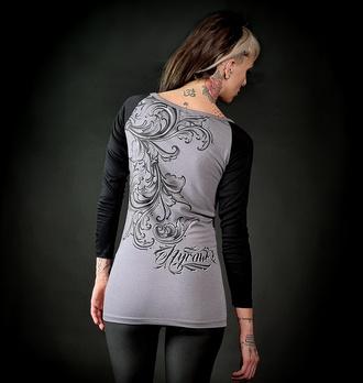 Maglietta da donna a maniche lunghe HYRAW - HURT, HYRAW