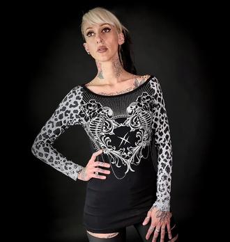 Maglietta da donna a maniche lunghe HYRAW - MANDALA, HYRAW