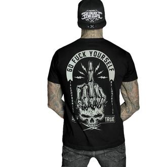 Maglietta da uomo HYRAW - Graphic - GO FUCK - NERO, HYRAW