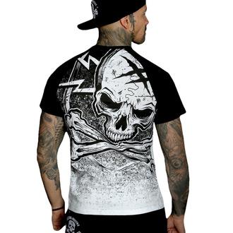 Maglietta da uomo HYRAW - Graphic - RAGLAN BLAZON - BIANCA, HYRAW