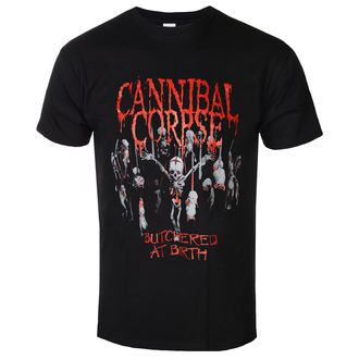 t-shirt metal uomo Cannibal Corpse - Butchered At Birth - PLASTIC HEAD, PLASTIC HEAD, Cannibal Corpse