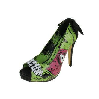 scarpe con il tacco donna - Zombie Stomper Platform - IRON FIST - IFW0005227-Green