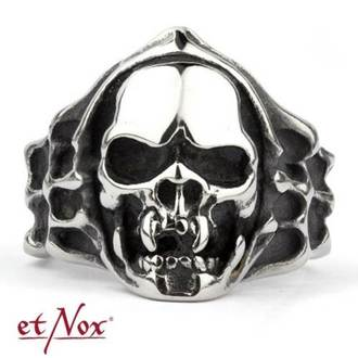 anello ETNOX - Mummy Skull, ETNOX