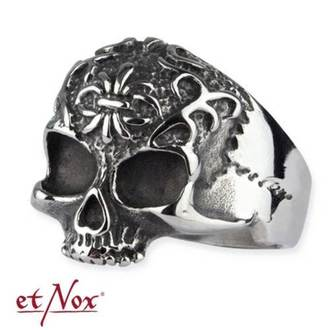 anello ETNOX - Ornament Skull, ETNOX