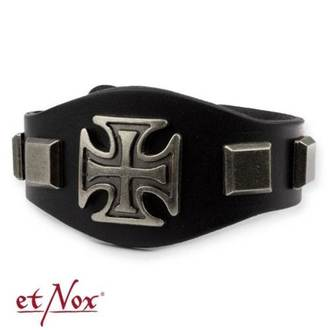 Braccialetto ETNOX - Iron Cross and Studs, ETNOX