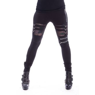 leggings Chemical Black - INKA - NERO, CHEMICAL BLACK