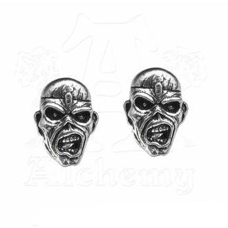 Orecchini Iron Maiden - Eddie Head - ALCHEMY GOTHIC, ALCHEMY GOTHIC, Iron Maiden