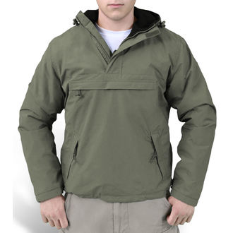 giacca primaverile / autunnale - WINDBREAKER OLIVO - SURPLUS, SURPLUS
