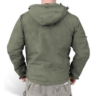 giacca primaverile / autunnale - WINDBREAKER OLIVO - SURPLUS