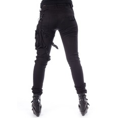 pantaloni Donna Heartless - ISAK - NERO, HEARTLESS