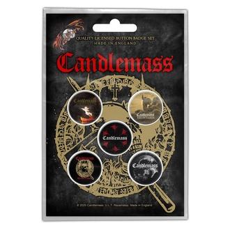 Distintivi CANDLEMASS - THE DOOR TO DOOM - RAZAMATAZ, RAZAMATAZ, Candlemass