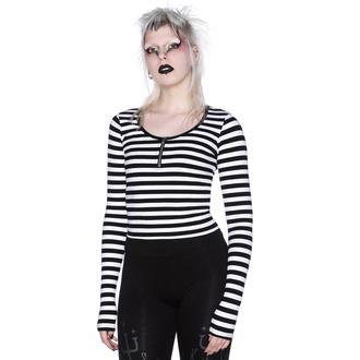 maglietta da donna a maniche lunghe KILLSTAR - Izora Ribbed - BIANCA, KILLSTAR