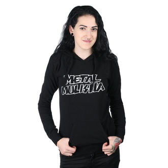 felpa con capuccio donna - SQUAD PO BLK - METAL MULISHA, METAL MULISHA