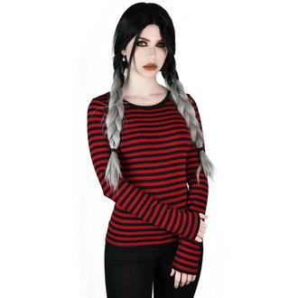 Maglietta da donna maglietta a maniche lunghe KILLSTAR - Jett - SANGUE, KILLSTAR