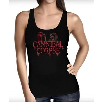 top donna CANNIBAL CORPSE - BLOOD GHOUL - JSR, Just Say Rock, Cannibal Corpse