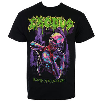 t-shirt metal uomo Exodus - BLOOD IN BLOOD OUT- JSR - Just Say Rock, Just Say Rock, Exodus