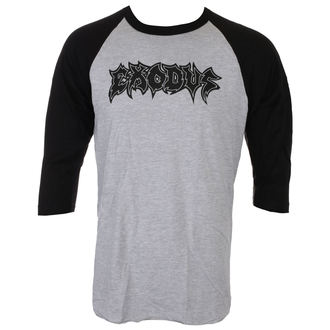maglietta uomini con 3/4 lungo maniche EXODUS - METAL COMMAND - GRIGIO / BLK - JSR, Just Say Rock, Exodus