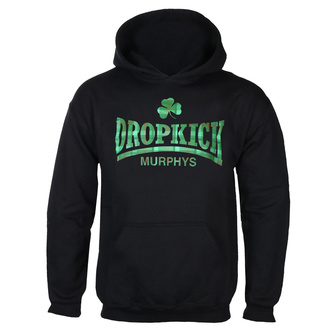 Felpa da uomo con cappuccio Dropkick Murphys - Fighter Plaid - Nero - KINGS ROAD, KINGS ROAD, Dropkick Murphys