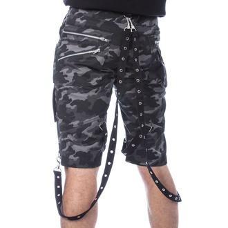 Uomo pantaloncini POIZEN INDUSTRIES - JUSTUS - GRIGIO CAMO, POIZEN INDUSTRIES