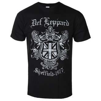 t-shirt metal uomo Def Leppard - SHEFFIELD 1977 - PLASTIC HEAD, PLASTIC HEAD, Def Leppard