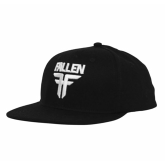 Cappello FALLEN - Insignia Flat - Black-White, FALLEN