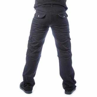 Pantaloni da uomo CHEMICAL BLACK - KALEN - NERO, CHEMICAL BLACK