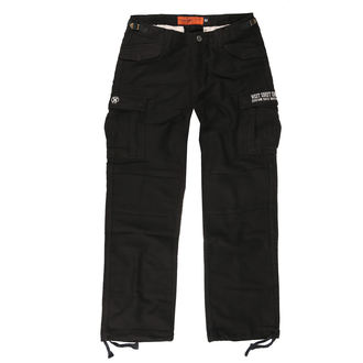 pantaloni WEST COAST CHOPPERS - M-65 CARGO PANTS - Annata nero, West Coast Choppers