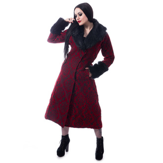 Cappotto da donna  POIZEN INDUSTRIES - KASTE - ROSSO, POIZEN INDUSTRIES