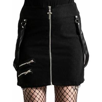 Gonna da donna KILLSTAR - Katy Coffin Mini - Nero, KILLSTAR