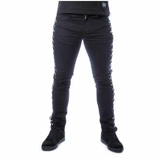 Pantaloni da uomo POIZEN INDUSTRIES - KENDRIC - NERO, POIZEN INDUSTRIES