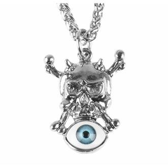 Collana con pendente Skull-eye, FALON