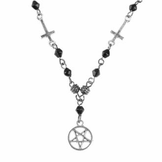 Collana con pendente Pentagram-Cross, FALON