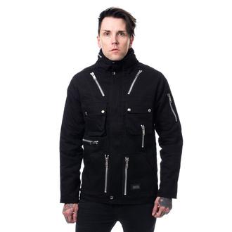 Uomo giacca POIZEN INDUSTRIES - KINGSTON - NERO, POIZEN INDUSTRIES