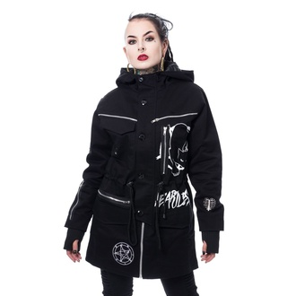 Giacca da donna (parka) HEARTLESS - KITTY CULT PARKA - NERO, HEARTLESS