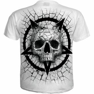 Maglietta da uomo SPIRAL - CRACKING UP - bianca, SPIRAL