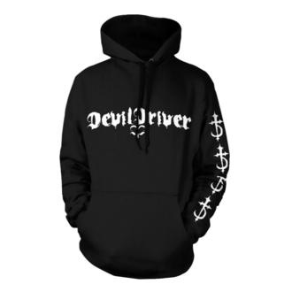 felpa con capuccio uomo Devildriver - Logo Careless Black - NNM, NNM, Devildriver