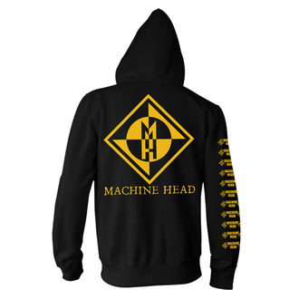 felpa con capuccio uomo Machine Head - Diamond - NNM, NNM, Machine Head
