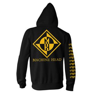 felpa con capuccio uomo Machine Head - Diamond - NNM, NNM, Machine Head