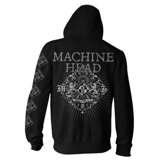 felpa con capuccio uomo Machine Head - Lion Crest Rays - NNM, NNM, Machine Head