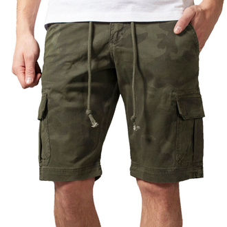 Pantaloncini da uomo URBAN CLASSICS - Camo Cargo - oliva camo, URBAN CLASSICS