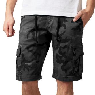 Pantaloncini da uomo URBAN CLASSICS - Camo Cargo - grigio camo, URBAN CLASSICS